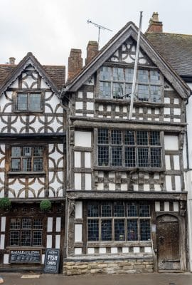 Historic buildings in Stratford-upon-Avon, Warwickshire