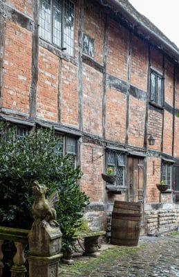 Tudor buildings in Stratford-upon-Avon