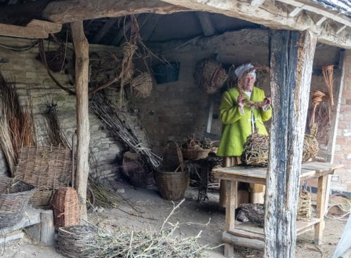 Mary Arden's Farm - a weekend in Stratford Upon Avon