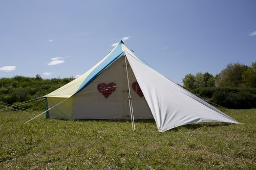 6 person bellepad from PodPads - bell tent