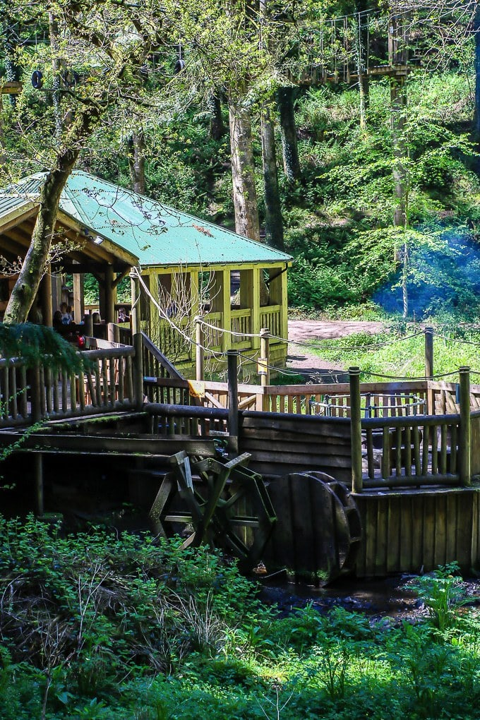 Camp Smokey at Bluestone Wales. Read my Bluestone Wales review to find out how we enjoyed our stay.