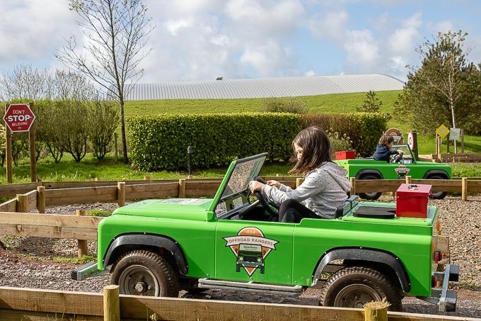 Bluestone Wales Review - 4x4 Off Road Ranger
