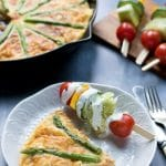 Sweet Potato Frittata with Asparagus