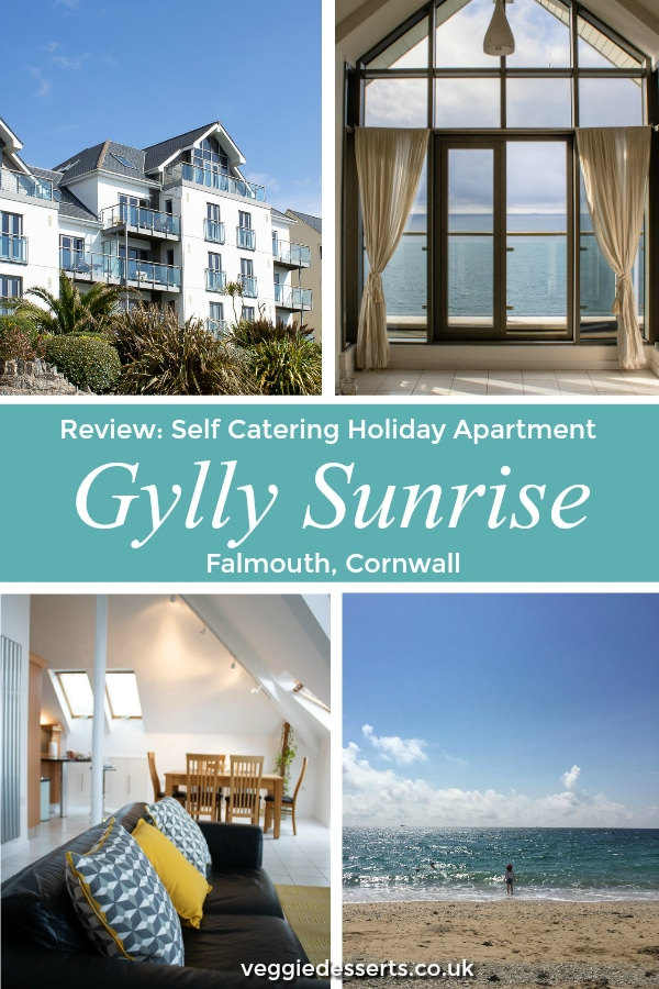 Review of Gylly Sunrise self catering holiday apartment in Falmouth, Cornwall. All mod cons with breathtaking sea views. #Falmouth #Cornwall #holidaycottage #holidayapartment