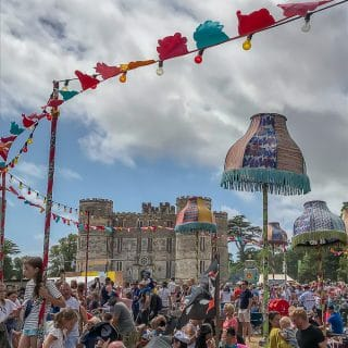 Castle Bar and Lulworth Castle - Camp Bestival Review 2018