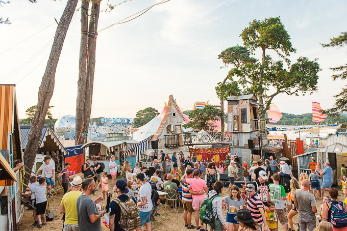 The Caravanserai at Camp Bestival 2018