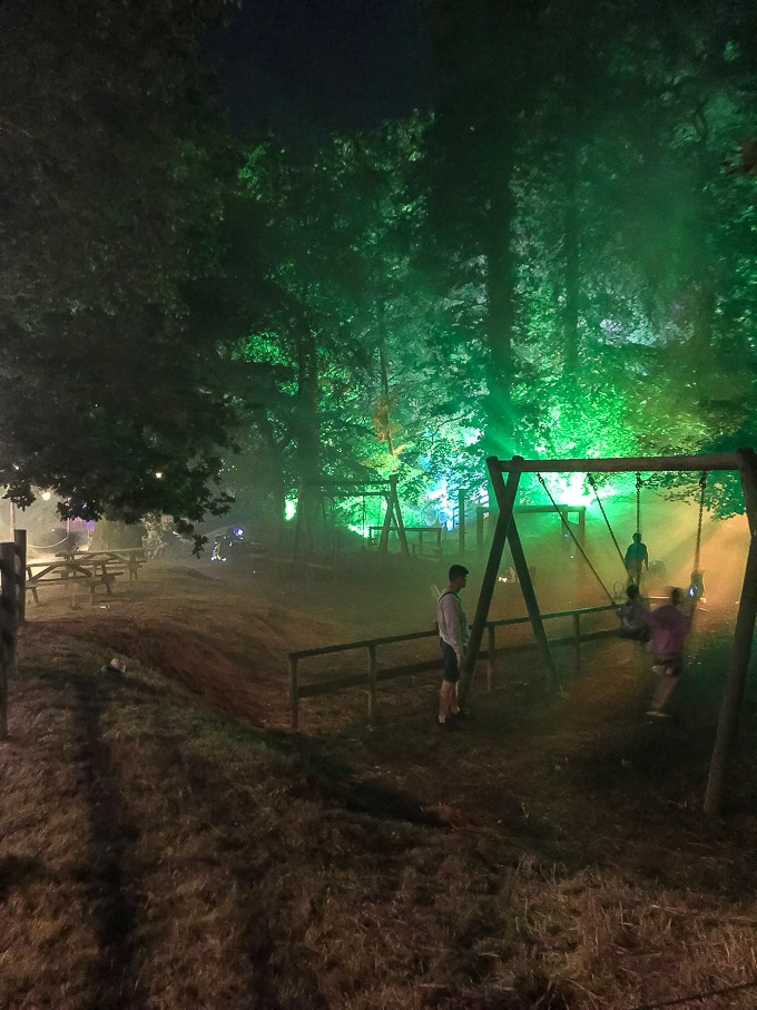 The Dingly Dell outdoor playground - Camp Bestival Review 2018