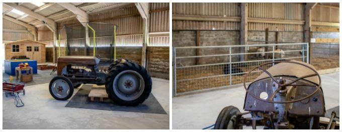 Play barn at Ilfracombe Farm - Featherdown Farm Days