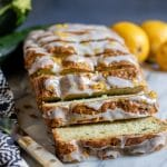 Courgette Cake with Lemon Drizzle