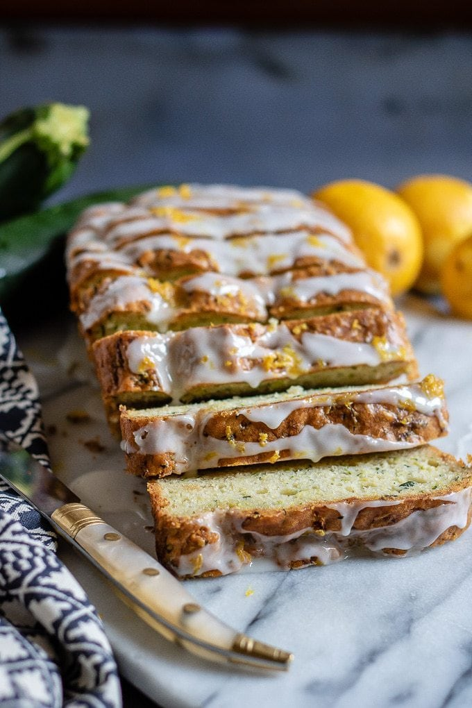 Courgette Cake With Lemon Drizzle Veggie Desserts