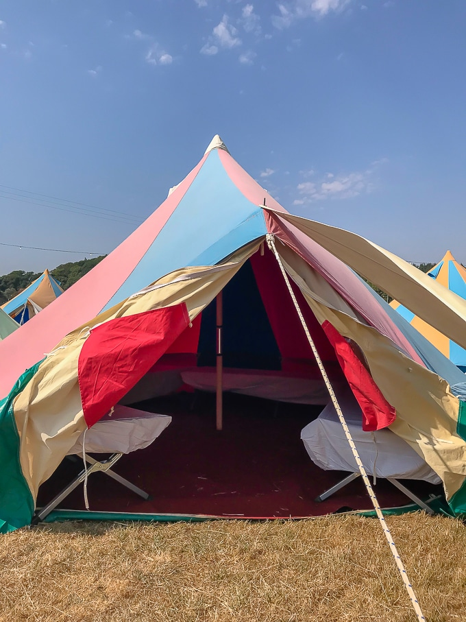 Bellepad by Podpads at Camp Bestival 2018 review