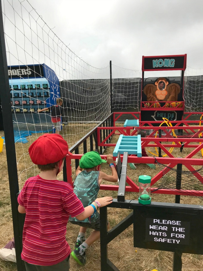 Actual Reality Video Game Arcade - Camp Bestival Review 2018