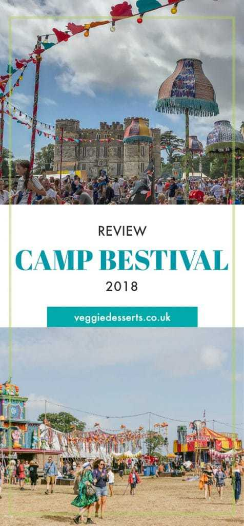 Pin image for Camp Bestival review 2018