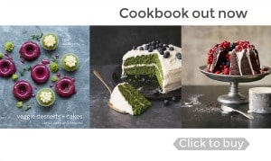 Veggie Desserts and Cakes Cookbook by Kate Hackworthy