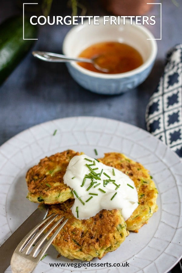 Plate of fritters.