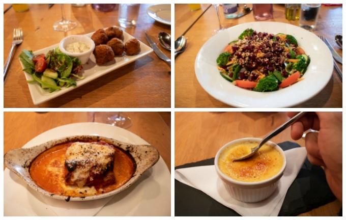 Food from the Southport Robertos Restaurant Menu