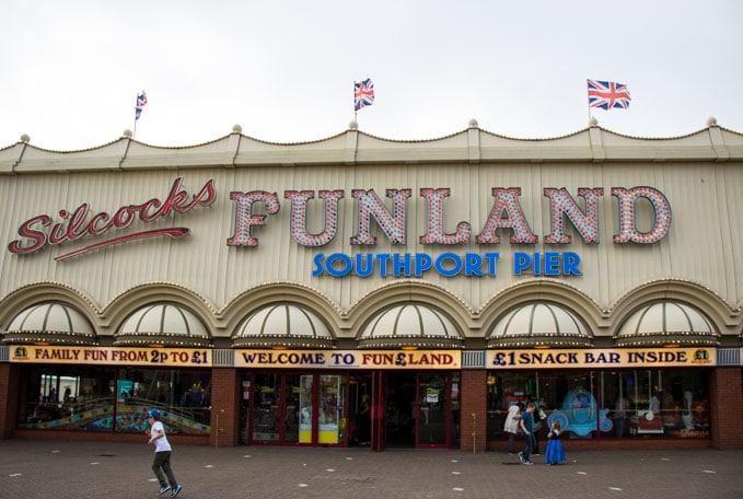 Silcocks Funland Arcade, Southport