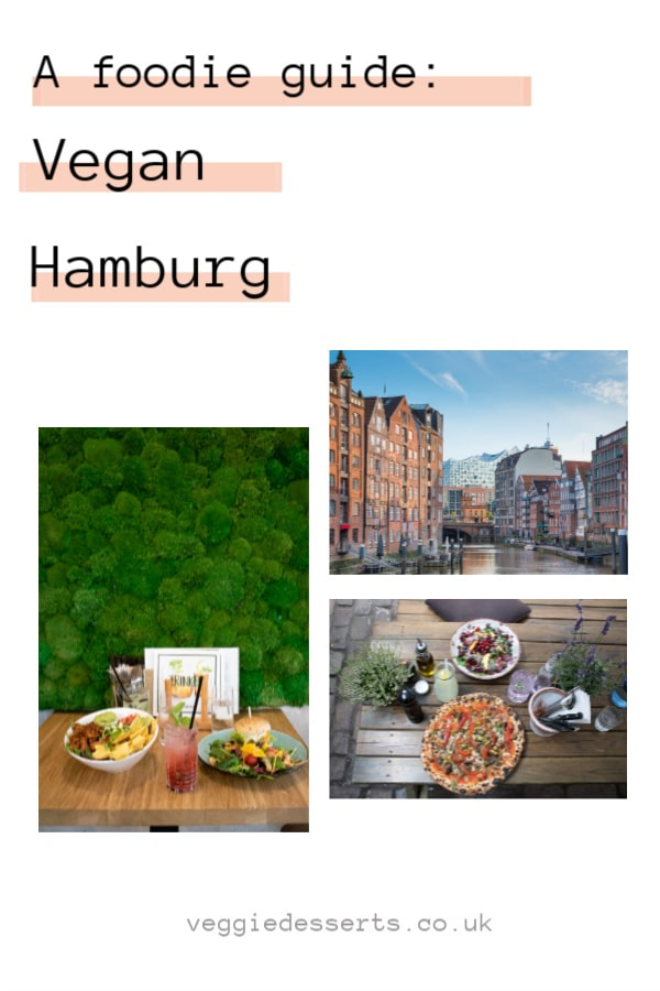 A foodie guide to the best vegan food in Hamburg, Germany. From breakfast to dessert, these vegan restaurants and cafes have a great selection. #veganhamburg #vegantravel #hamburg