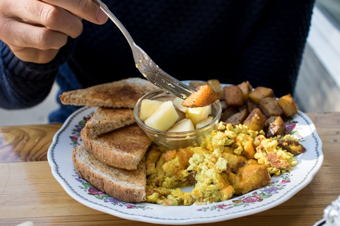 Vegan breakfast at Mamalicious, Hamburg