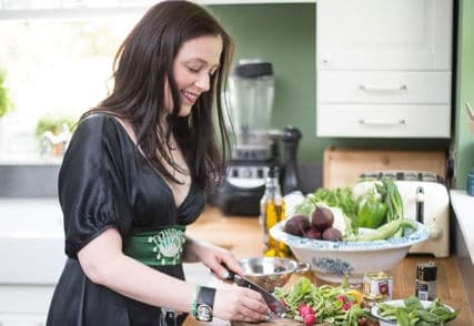 Kate Hackworthy of VeggieDesserts.co.uk - UK Food Blog with vegan and vegetarian recipes