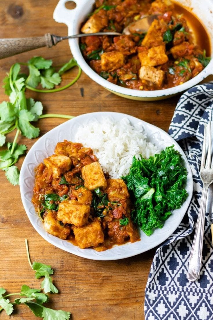 Easy Tofu Curry Recipe