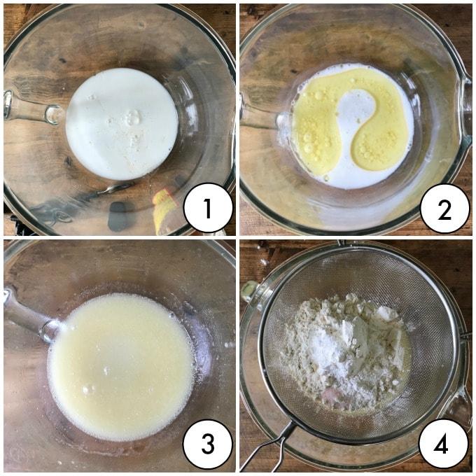 Step by step images vegan vanilla cupcakes
