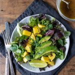 Mango Salad with Lime Ginger Dressing