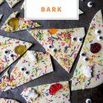 Pinnable image for Halloween Bark
