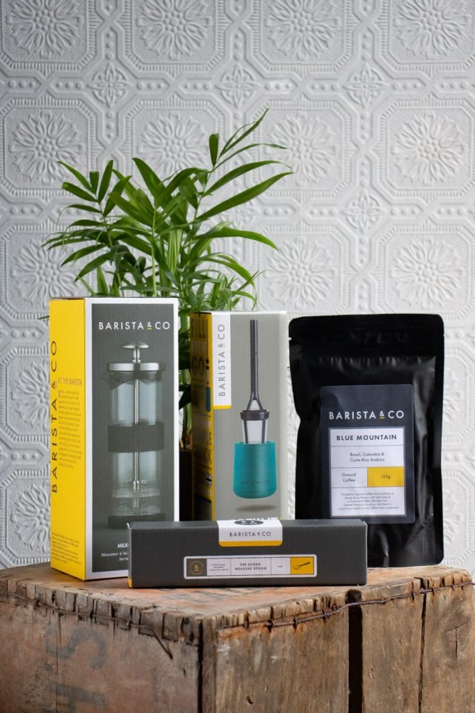 set of Barista and Co coffee products