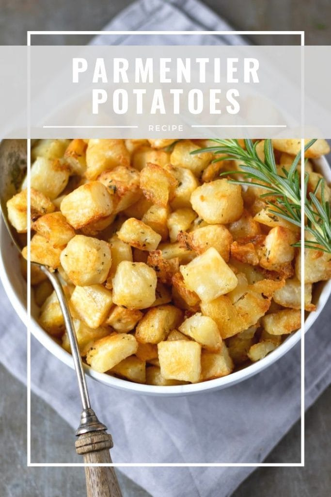 pinnable image for parmentier potatoes recipe