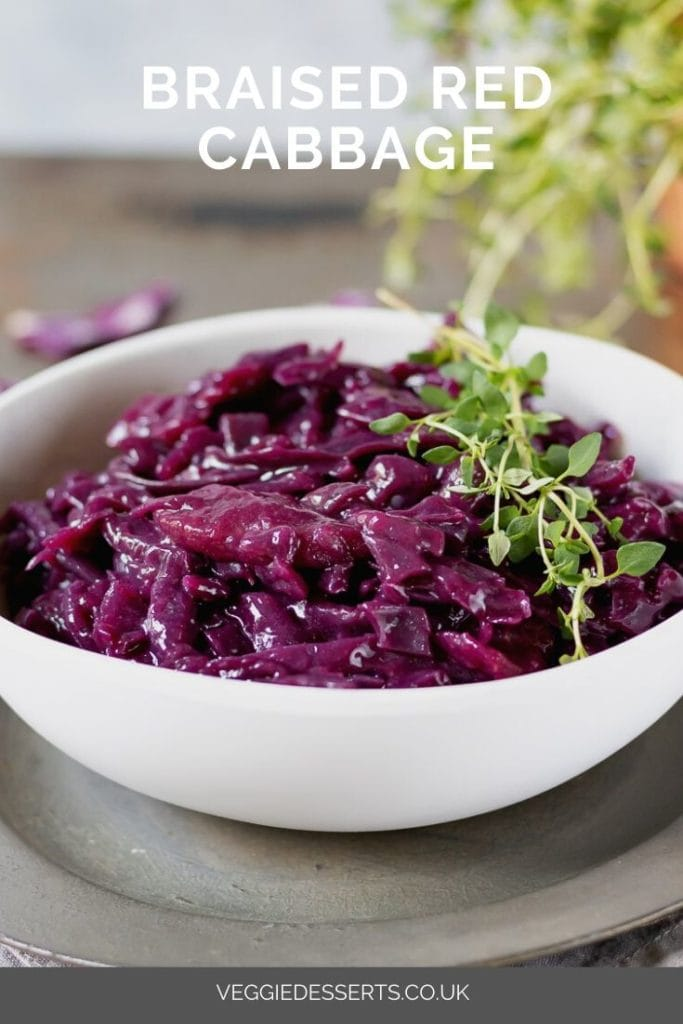 Braised Red Cabbage Veggie Desserts
