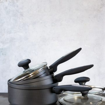 set of three saucepans from Zyliss Cook