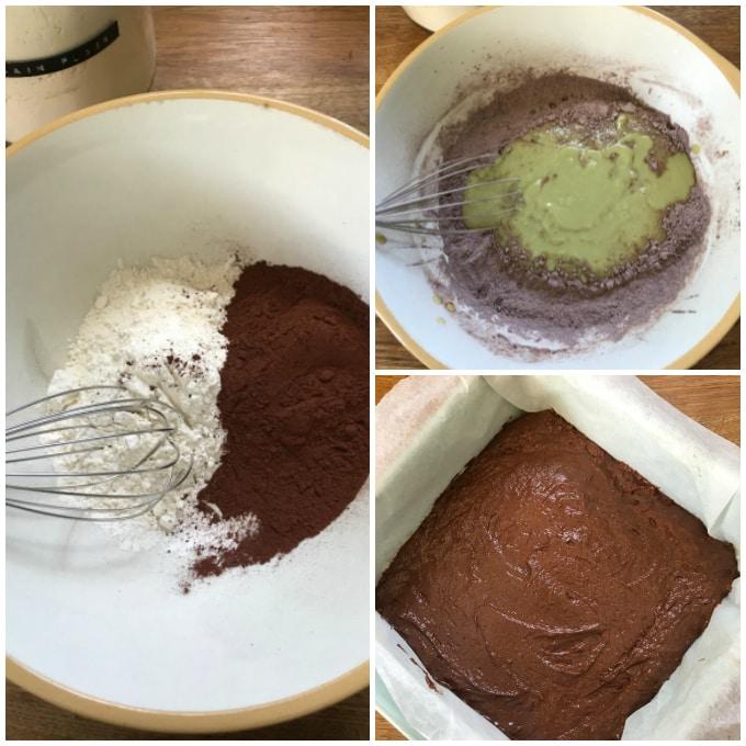 How to make reindeer brownies step 3