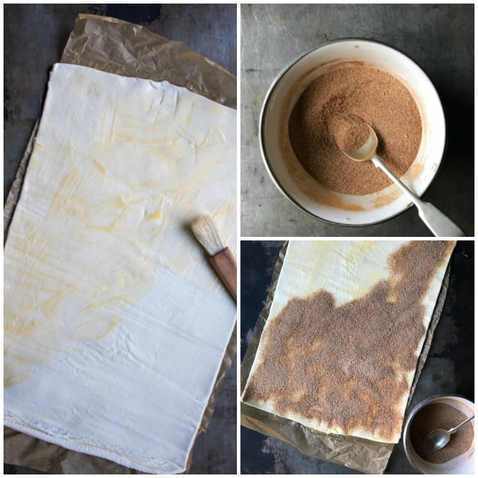 step by step tutorial for cinnamon twists recipe