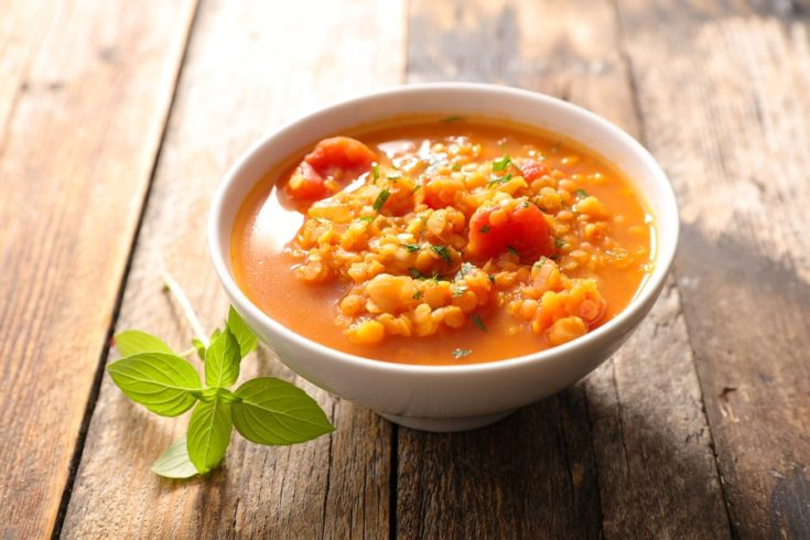 Plant-Based Tomato Lentil Soup Recipe (Allergy & Pantry Friendly)