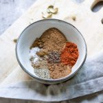 baharat spices in a bowl
